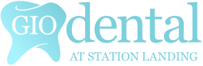 Gio Dental at Station Landing Logo